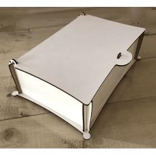 Caixa de Chá em MDF para Sublimação
