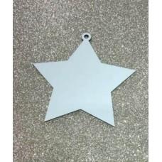 Estrela de Natal MDF para Sublimação com 3 Unidades